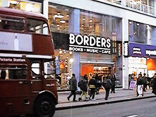 Borders Oxford Street, London - Feb. 5, 1999
